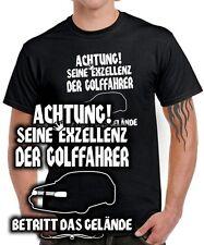 SEINE EXZELLENZ DER GOLFFAHRER T-SHIRT MK 3 Golf Tuning vw Treffen Gti SATIRE