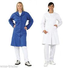 Berufsmantel Damenkittel Damenmantel Arbeitskleidung Baumwolle Langarm neu