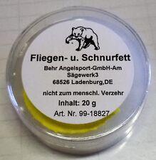 Schnurfett Fliegenfett 20g Fliege Schnur fetten Rollen Angel Pflege (0,185€/g)
