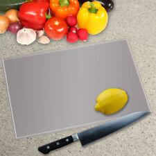 Color sólido Vidrio Templado picar placa encimera Saver