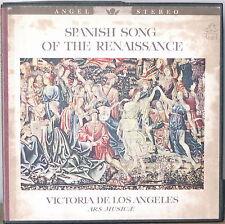VICTORIA de los ANGELES: Spanish Song of the Renaissance-NM1962? 1LP BOX w/ BOOK