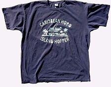 Caribbean Hobo t-shirt island Hopper key west island margaritas tropical Navy