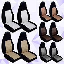 CC  Miata  2001-2005 car seat covers front set cotton combo or  design