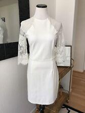 BB Dakota Lace Back Princeton Ivory Short Bridal Shower Wedding Dress S M