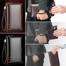 Men's Business Clutch Bag Handbag Briefcase Wallet Purse AR196 Leather Tote Bags