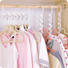 Magic Clothes Hanger Multifunctional Closet Organizer Rack Hook Space Saver Litt