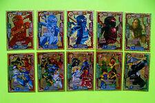 Selezione LEGO NINJAGO EDIZIONE LIMITATA carte Trading Card Game Oro ULTRA carte NINJA