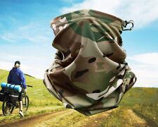 New listing Camo Tactical Neck Gaiter Tube Face Shield Sun Military Army Scarf Bandana Mask