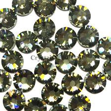 Black Diamond (215) Swarovski Elements 2038/2028 5ss Flatback Hotfix Iron-on ss5