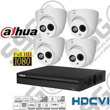 DAHUA 1080P CCTV Securit CAMERA KIT 4MP HD DOME CAMERAS HDCVI SWITCHABLE INSTALL
