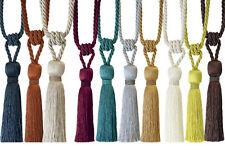 Milly Tendine Nappa Per Cordoncino Perline di cristallo guarniti fermatende