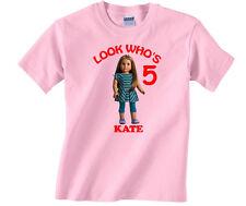 Personalized Custom American Girl McKenna Birthday Shirt Gift