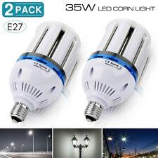 E26 LED COB Corn Bulb 35W Light Lamp Replace 200W Metal Halide Parking Lot Light
