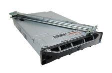 Dell R720xd 24SFF 2U - 2xE5-2680 2.7GHz 8C 128GB 4x600GB 15K H710 QP 1GbE 2x750W