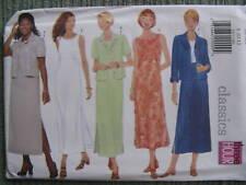Butterick #5932 SUMMER Maxi DRESS Jacket 3 hour Fabric Sewing Pattern B 31½ -34