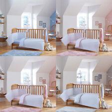 Clair de Lune Stars & Stripes 2 Piece Cot/Cot Bed Quilt & Bumper Bedding Set