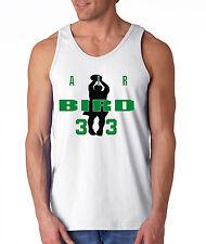 """Larry Bird Boston Celtics """"Air Bird"""" shirt jersey TANK-TOP"""