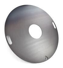 Feuerplatte 80 & 100cm und Zubehör für Feuertonnen und Kugelgrills