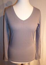 Damen-Langarm- Shirt von Kangaroos smokeblue Gr. 32 bis 40