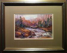 Lisa Wirth (Canadian) - Autumn Landscape - Framed Original Pastel