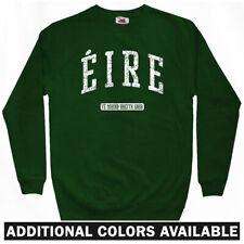 Eire Ireland Sweatshirt Crewneck - Irish Gaelic Dublin Galway St Pats  Men S-3XL