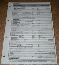 Inspektionsblatt Honda Civic 5-Türer 1,4 i ab 1997!