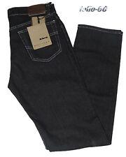 Jeans uomo Taglia 46 48 50 52 54 56 58 60 HOLIDAY Tela elasticizzata Nero