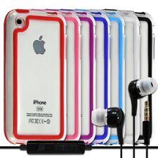Housse Etui Coque Bumper pour Apple iPhone 3G/3GS + kit piéton
