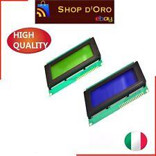 Display BLU 20x4 lcd retroilluminato HD44780 arduino pic Verde o BLue