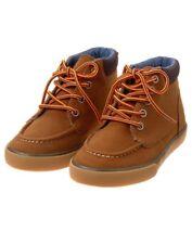 NWT Gymboree Boy Boots Camp Carmel Shoes Cosmic club SZ. 10,11,1,4