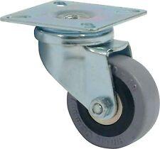 Uso SPECIALE Ricino girevole Ø ruota 75 MM PIASTRA RIPARATA capacità di carico: 60 KG