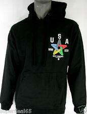 Neff USA Hooded Sweater Black with Aztec Pattern Neff Hoody Neff Hoodie