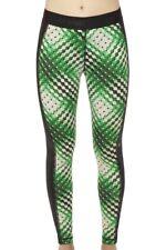 NWT Women's Ep Pro Delight Ombre Dot Print Leggings Green/Ivory/Black Size XS-XL