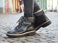 Clarks Schuh Witcombe Rock 261273 black Damenschuhe Winterschuhe Fellgefüttert