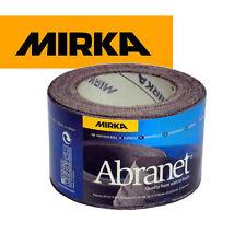Mirka abranet Abrasivo Rollo De Papel De Lija - 75mm X 10mtr * todos Grits disponibles *