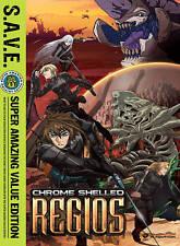 S.A.V.E. Chrome Shelled Regios   DVD Regions 1 & 4