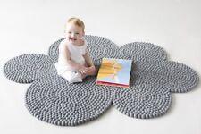 Cloud Rug Pom Pom Felt Balls Rugs Nursery Carpet Area Carpet Mat Supplies