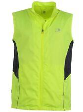 Karrimor Herren Running Lauf Weste Neon Gelb Größe S, L oder XL Neu mit Etikett