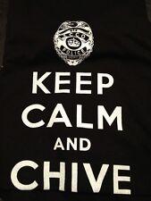 the Chive *Authentic* Police KCCO T-Shirt Navy or Black S M L XL XXL XXXL BFM