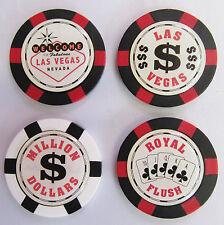 Póker/Ruleta Chip Marcador De Pelotas De Golf Bienvenido/Las Vegas/Millón/