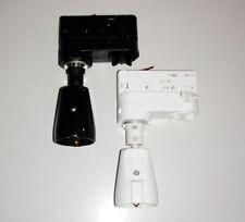 3-Phasen Steckdose in Schwarz / Weiß für die 3-Ph Stromschiene > Erco kompatibel