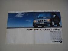 advertising Pubblicità 1990 BMW 524 TD