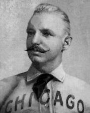 Chicago White Stockings ADRIAN CAP ANSON Glossy 8x10 Photo Baseball Poster Print