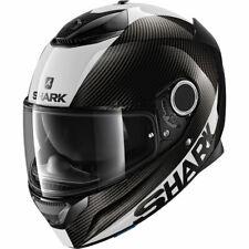 Shark Spartan Carbono Funda Blanco Motocicleta Sports Touring Casco