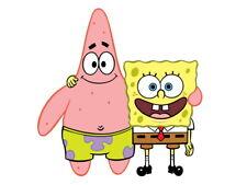 SpongeBob SquarePants Patrick Star Friends Funny Kids Huge Print POSTER Affiche