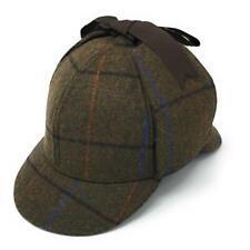 9e76d07569f Tweed Deerstalker Sherlock Wool Hat - fully lined