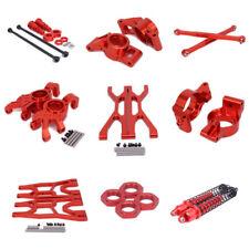 For RC 1/5 1/6 Traxxas X-MAXX XMaxx Xmaxx Alloy Upgrade Parts Hop-ups RED