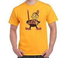 New Cleveland Fan Sport Teams Mens Yellow T-SHIRT Combined Logo Mashup