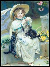 Playful Kittens - Counted Cross Stitch Patterns/Kits - Color Symbols Charts