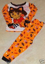 Girls Dora & Hello Kitty Halloween Pajama Set